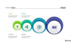 Four Circles Plan Slide Template
