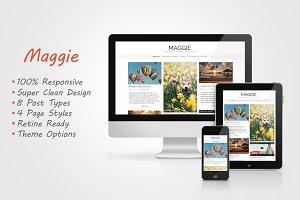 Maggie - Responsive Blog Theme