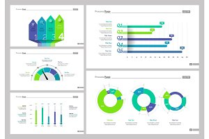Five Business Research Slide Template Set