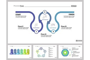 Four Consulting Slide Templates Set