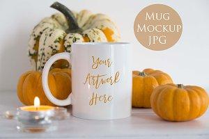 Pumpkins Mug Mockup