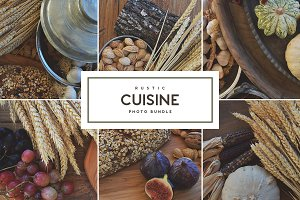 Rustic Cuisine • Photo Bundle
