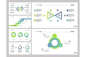Six Financial Report Slide Template Set
