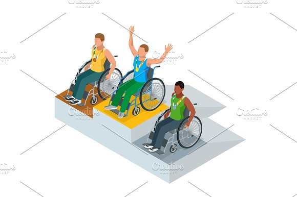 Isometric sports for peoples with disabled activity