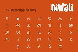 Diwali doodles