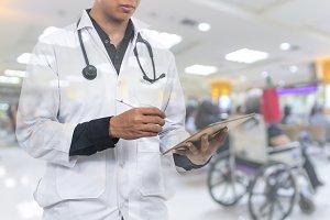 physician hospital concept