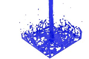 Cylinder Flow Splasher
