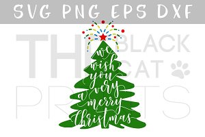 Very merry Christmas SVG DXF PNG EPS