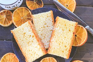 Bitter Orange Sponge Cake