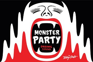 Monster Party Font