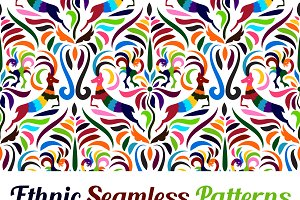 Vector Otomi Style Patterns