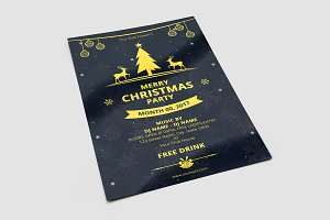 Christmas Invitation Flyer -V646
