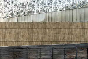 Background from the building wall, straight lines, geometrically