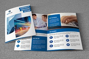 Corporate Brochure Template-V758