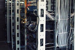 servers in server room