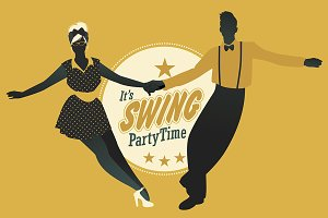 Now we're dancing Swing!