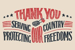Thank You Veterans Sign
