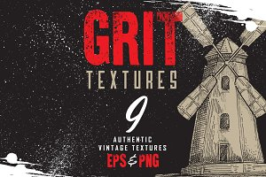 Authentic Grit Textures