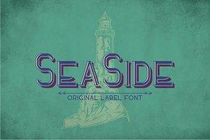 Sea Side Vintage Label Typeface