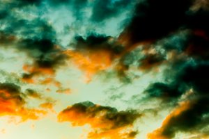 abstract coloured sky