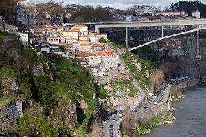 Porto City Riverside in Portugal