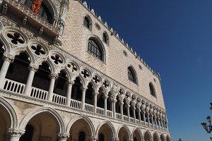 Doge Palace in Venice in Venice