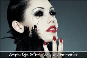 Vampire Eyes [Action and Brushes]