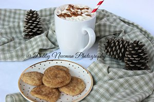 Cup of Cocoa & cookies