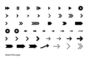 3D + 2D Arrows