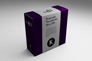 Business Templaetes Bundle No81