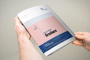 3xA4 Brochure Template