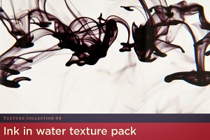 Ink in Water Texture Pack