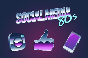 Artwork Online Social Media vector