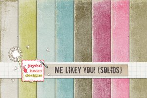 Me Likey You! {solids} - 20% off! :)