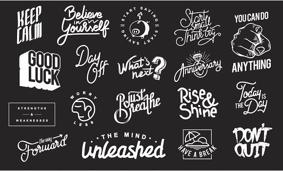 Artwork Typographic vector