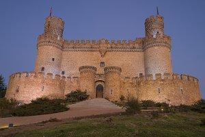 The Mendoza Castle. Madrid
