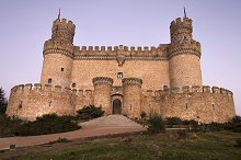 The Mendoza Castle. Madrid