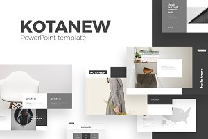 Kotanew PowerPoint Template