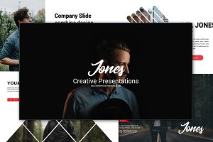 Jones Creative Keynote Template