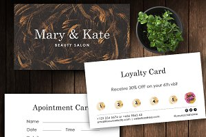 Loyalty and Appointment card ID2