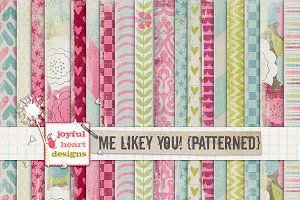 Me Likey You! {patterned} - 20% off!