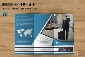 Trifold Business Brochure-V759