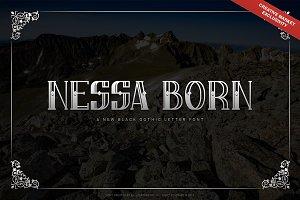 Nessa Born - Black Label Font