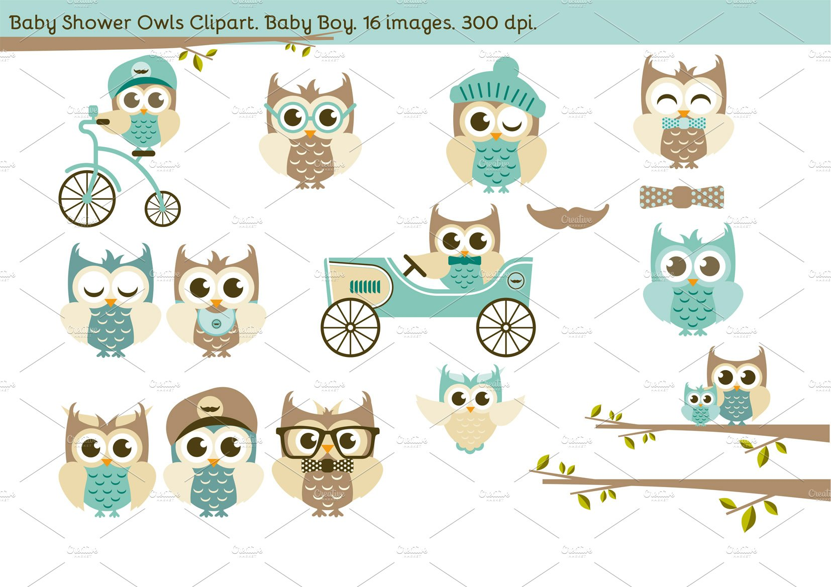 owl baby shower photos graphics fonts themes templates