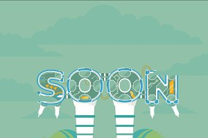 Coming Soon illustration
