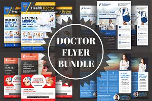 Medical Doctors Flyers Bundle