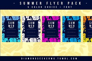 Rose / SummerFlyers Pack (5 Choices)