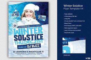 Winter Solstice Flyer Template V4