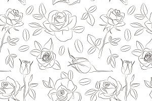 Rose set pattern