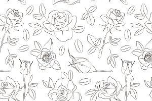 Rose set pattern